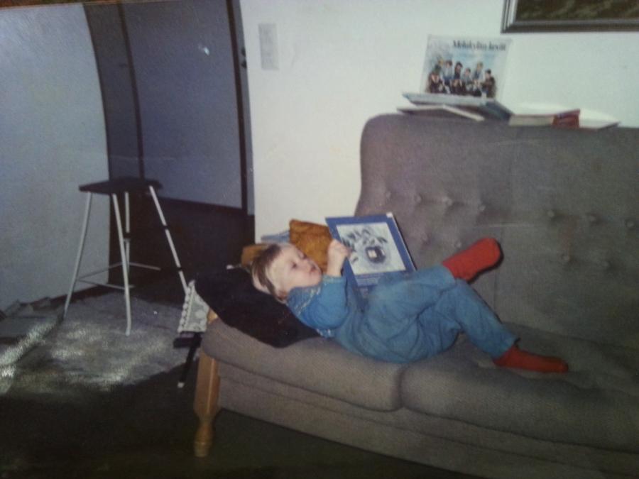 5-vuotiaskin sen tietää: lukeminen kannattaa.